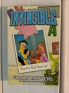 Invincible tpb vol 1-3; family matters, eight is enough, perfect strangers. VF+