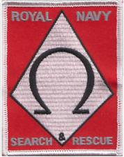 Royal Navy RN FAA Search And Rescue SAR  MOD Embroidered Patch