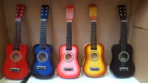 """21"""" CHILDRENS KIDS WOODEN ACOUSTIC GUITAR MUSICAL INSTRUMENT CHILD TOY XMAS GIFT"""