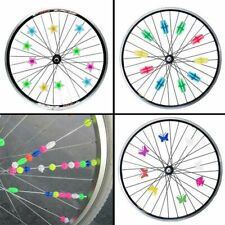 Bicycle Accessories Colored Bike Wheel Spoke Bead Wheel Clip Decoration Plastic