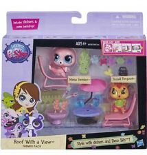 New Littlest Pet Shop Roof With a View Minna Russell Themed imagination Toy Gift