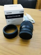 SIGMA 56mm f/1.4 DC DN Contemporary Lens for Sony E-Mount