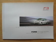 FORD MS DESIGN 2002 Styling Brochure - Ka Fiesta Puma Focus Cougar Mondeo Galaxy