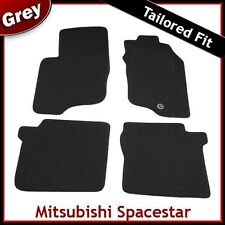 Mitsubishi Spacestar Tailored Fitted Carpet Car Mats GREY (1999 2000..2004 2005)