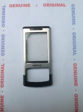 COVER ORIGINALE NOKIA- 6500 slide  FRONT SILVER