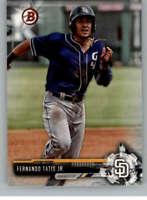 2017 Bowman Draft #BD-71 Fernando Tatis Jr. Padres