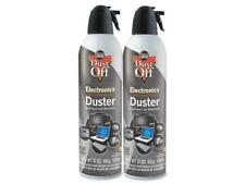 Falcon DPSJMB2 Disposable Compressed Gas Duster, 2 17oz Cans/Pack