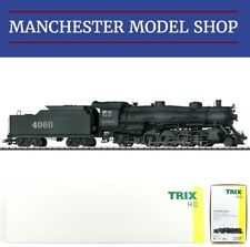 "Trix 22591 HO 1:87 Light Mikado A.T.&S.F. steam locomotive ""DCC SOUND"" NEW BOXED"
