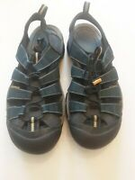 Keen Men's Shoes Sandals Size 10 Blue Water Hiking Fishing Outdoor Footwear