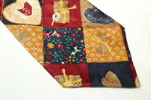 PAOLO DA PONTE  Silk tie Made in Italy F14141