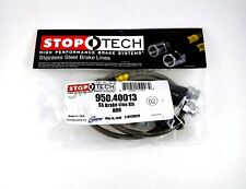 STOPTECH STAINLESS STEEL FRONT BRAKE LINES FOR 09-14 ACURA TSX 4DR SEDAN