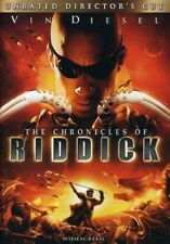 The Chronicles of Riddick (Widescreen Unrated Director's Cut) - Each Dvd $2 Buy