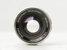 Steinheil München Quinon 50mm 1:2 M39 Screw Thread Braun Super Paxette Leica