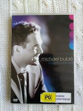MICHAEL BUBLE-CAUGHT IN THE ACT – DVD/CD,  R-2-5, LIKE NEW, FREE POST AUS-WIDE
