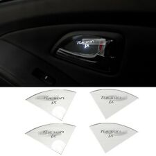LED Door Catch Hairline Silver Molding Cover Plate For HYUNDAI 10-15 Tucson ix35