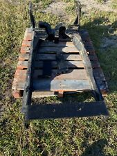 Woods Backhoe Subframe For New Holland Workhorse Bh7580 With Hydraulic Hose Kit