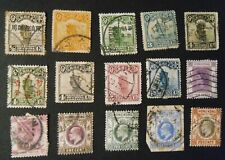 15 Classic Chinese Stamps - Hong Kong - China Briefmarken