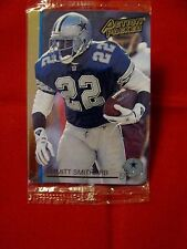 1992 ACTION PACKED EMMITT SMITH PROTOTYPE CARD #92N SEALED