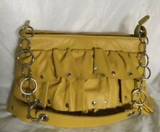 MAKO HOUSE SYDNEY Mustard Leather Shoulder Bag / Handbag