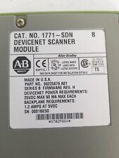 Allen Bradley 1771-Sdn Ser B Used Devicent Scanner Module 1771Sdn