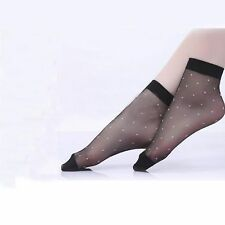 7eaa074b9 Polka Dot Black Socks for Women for sale