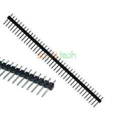 10PCS 40Pin 2.54mm Male Straight Header Strip PCB Single Row Connector Arduino