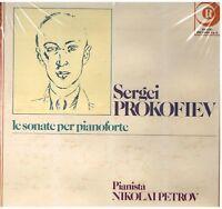 Prokofiev: Die Sonate Für Klavier / Nikolai Petrov - LP