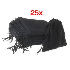 25 �— black jewelry gift bag velvet Q3L6