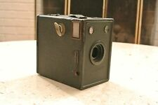 Antique 1935 Agfa Cadet Box Camera for D-6 / 116 Roll Film WORKS NICE!