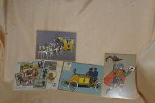 500 Jahre Post Jubiläumskarten 10 Stück / Serie 1