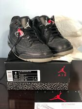 2011 Air Jordan Retro 3 Black Flip  ( sz 9 ) AUTHENTIC