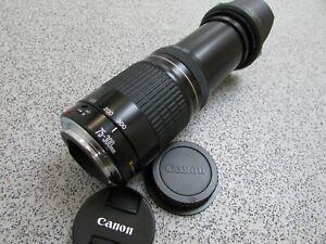Canon EF 75-300mm 1:4-5.6 Ultrasonic Telephoto Zoom Lens for Canon EOS DSLR SLR