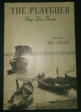 Playgoer Stage Door Theatre San Francisco Jean Renoir The River Chesterfield Cig
