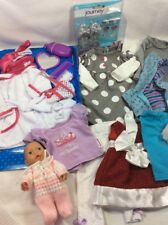 "Lot Of 18"" Inch Doll Clothes Outfits Shoes Fits Our Generation /American Girl -G"
