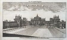 1760 Antique Print; Blenheim Palace, near Woodstock, Oxfordshire