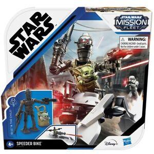 Star Wars Mission Fleet  IG-11 & The Child Speeder Bike - Protect the Bounty
