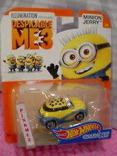 HTF➽☀DESPICABLE ME 3☀MINION JERRY 3/6 ☀2017 Hot Wheels☀iLLUMINATION☀Character