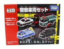 Tomica Takara Tomy 4er Set Polizei Toyota Streifenwagen Tankwagen Honda Japan