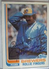 2002 Topps Hall of Fame Autoproof Rollie Fingers Autograph 113/200
