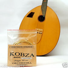 Four (4) string KOBZA Bass Bronze strings SOLID Made in Ukraine 860 mm scale