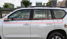 6pcs Steel Window frame sill Cover For Toyota Land Cruiser Prado FJ150 2010-16