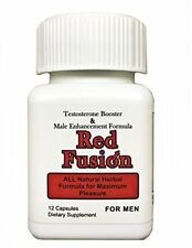 Redfusion Natural Herbal Sexual Male Enhancement Pill Erection Libido Sex Pill