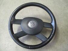 4 radios de volante de cuero VW Touran volante negro 1t0419091b