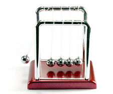 Classic Cradle Kinetic Balls Executive Educational Toy Office Desk WO71