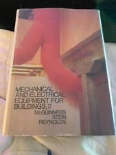 Mechanical and Electrical Equipment for Buildings 6th Edition McGuinnes Stein