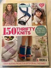 150 thrifty knits patterns for all skill levels, even novices
