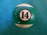 "2 1//4/"" Crown Aramith #13 Ball  Individual Replacement Billiard Pool Table Ball"