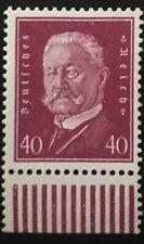 Germany #379 Mnh Cv$150 Hindenburg