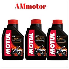 Motul 7100 10w 40 Olio Motore Lubrificante 100 % Sintetico 3 Litri Honda MOTO