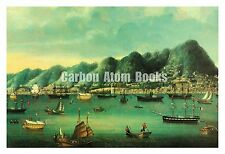 """OLD CHINA TRADE PAINTING Color Photo Reproduction 11""""x17"""" Ready for Framing"""